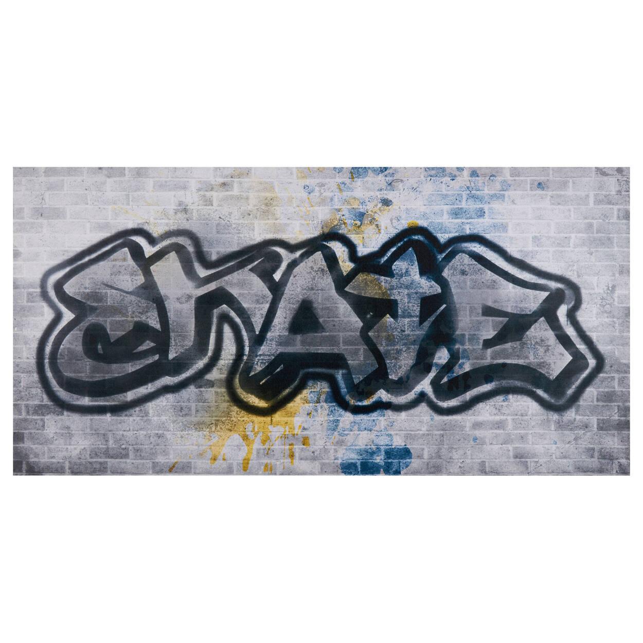 Tableau imprimé style graffiti Skate