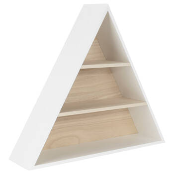 Triangular Wall Shelf