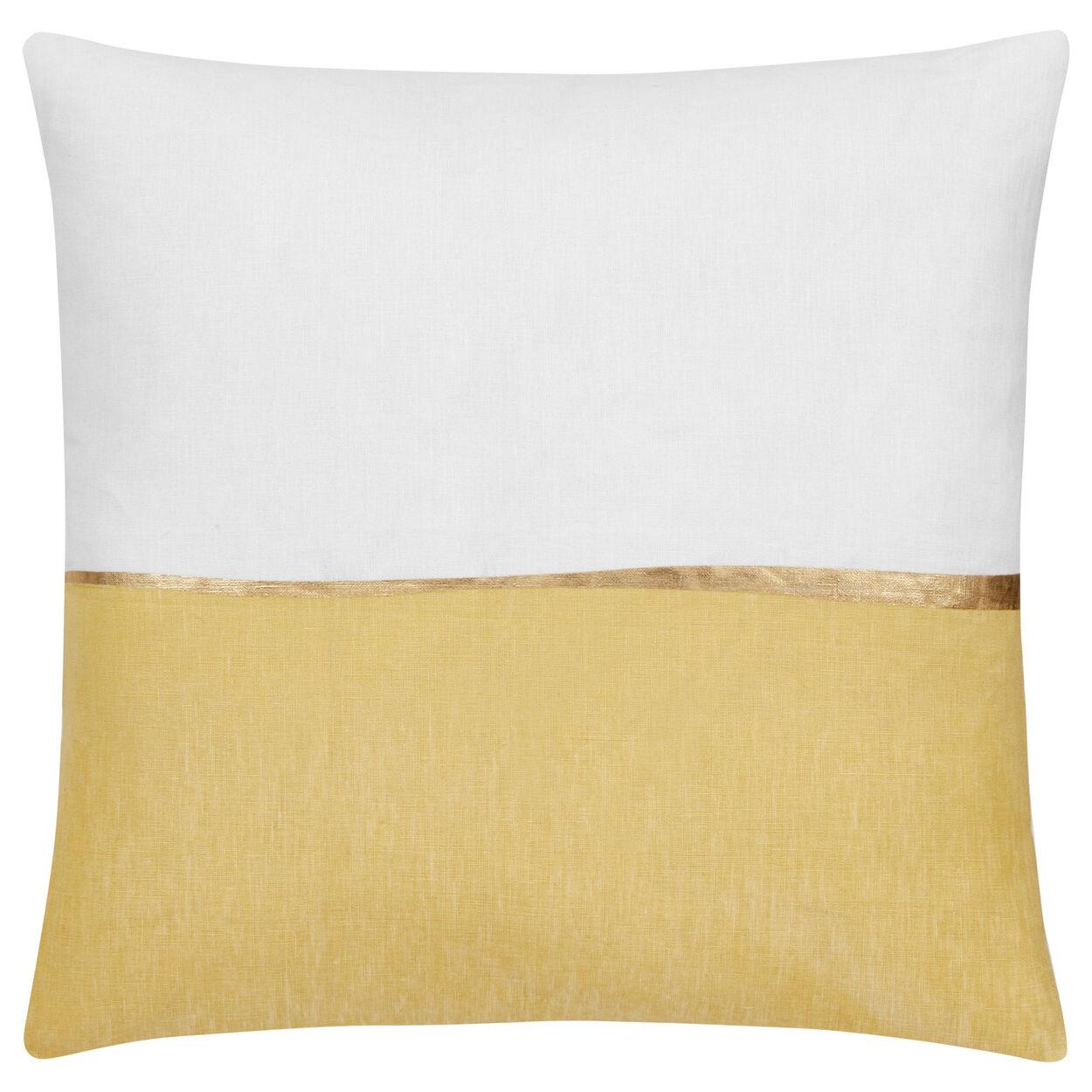 "Oubli Decorative Pillow with Foil Embellishment 20"" X 20"""