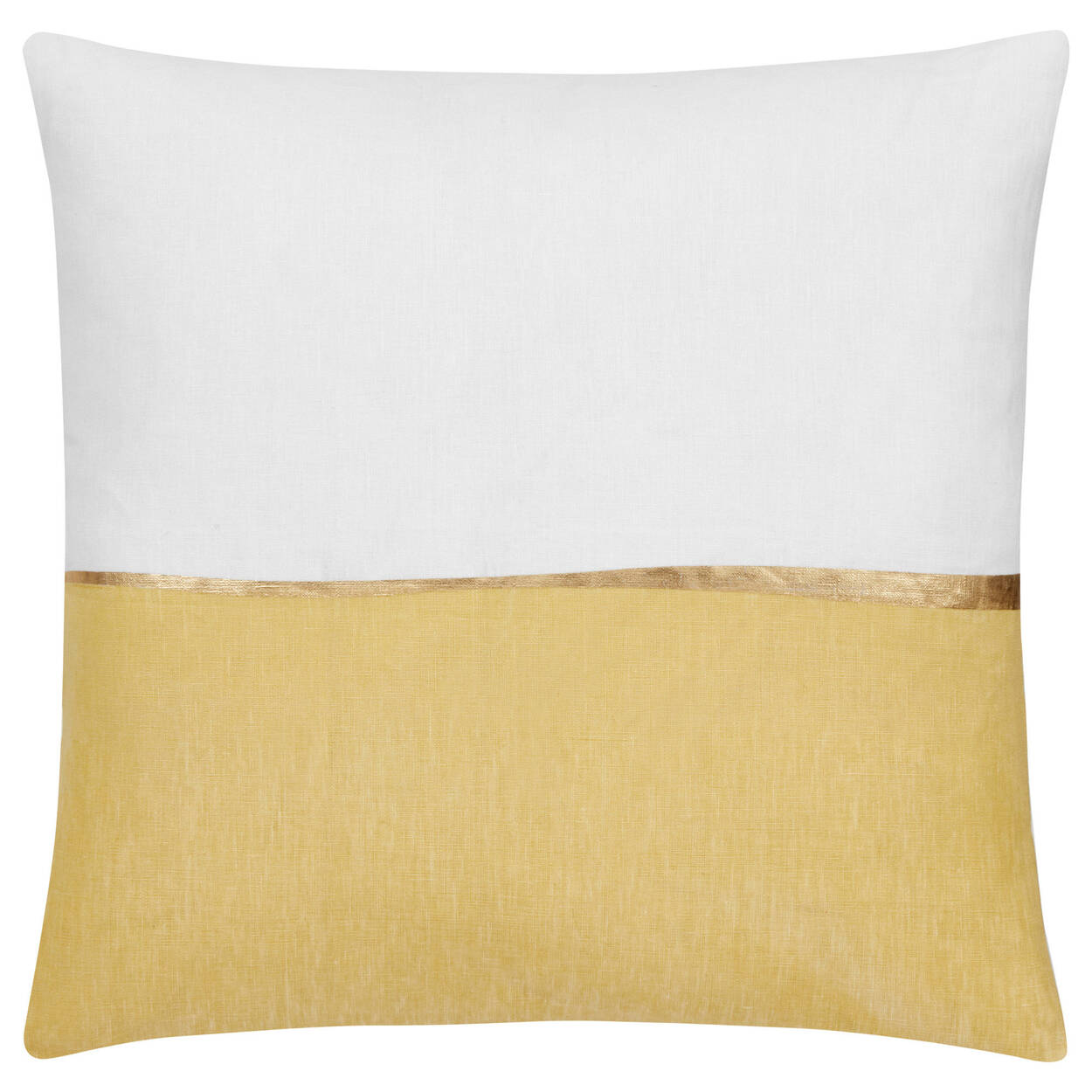 "Oubli Decorative Pillow with Foil Embellishment 20"" X 20"""