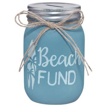 Beach Fund Money Bank