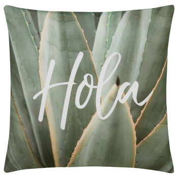 "Hola Decorative Decorative Pillow Cover 18"" X 18"""