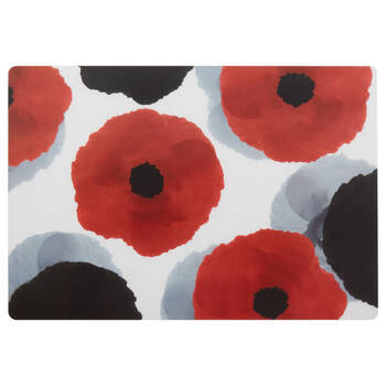 Set of 4 Floral PVC Placemats