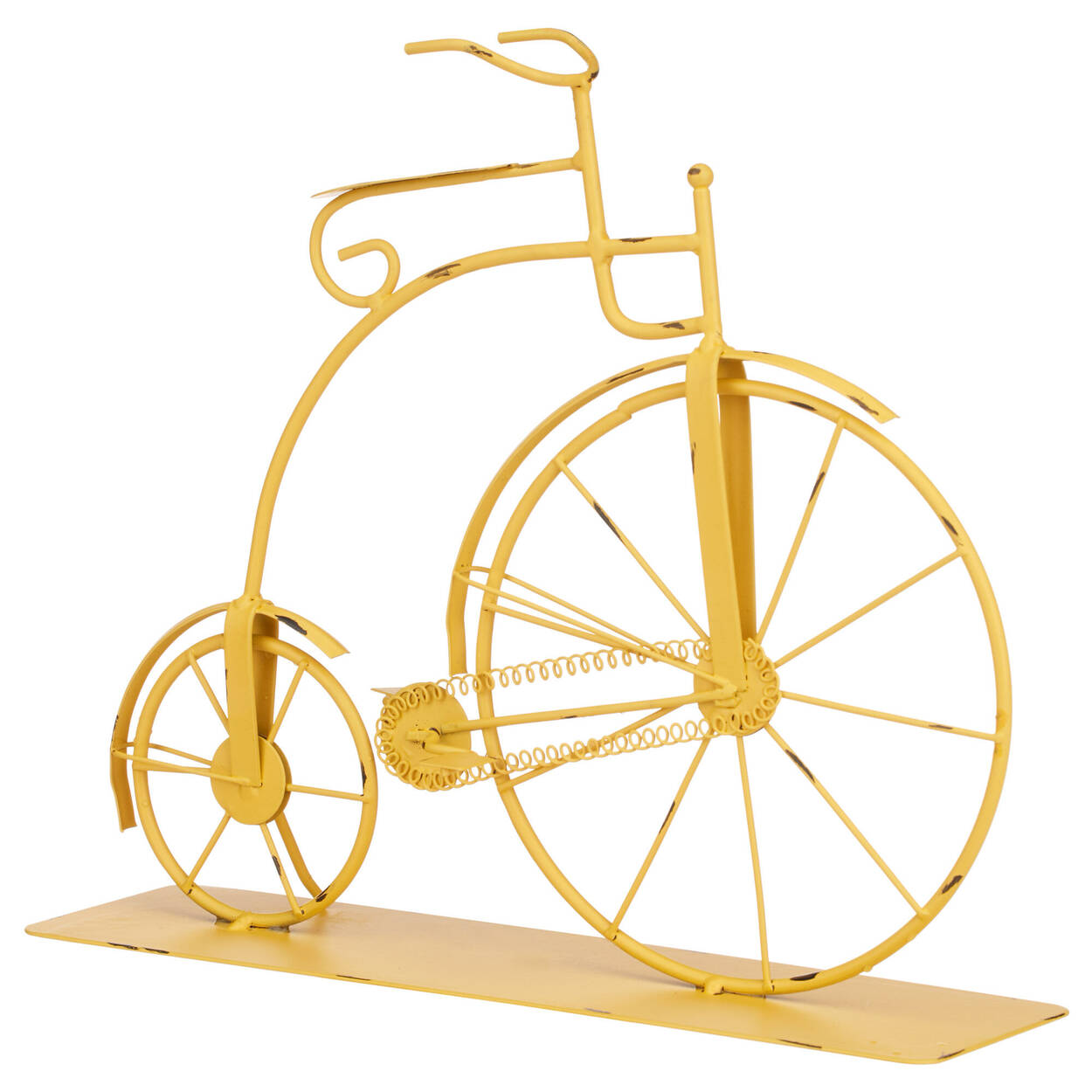 Bicyclette décorative en métal