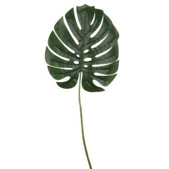 Verdure artificielle feuille de Monstera