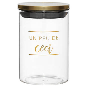 Airtight Ceci Glass Jar