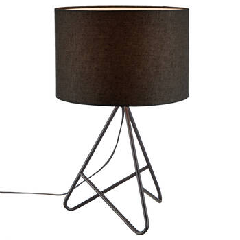 Lampe de table avec base en métal