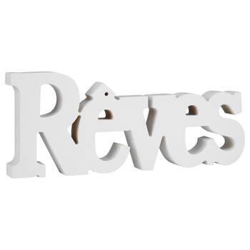 Decorative Word Rêves