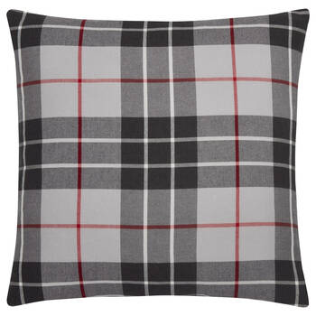 "Troy Plaid Decorative Pillow 18"" x 18"""