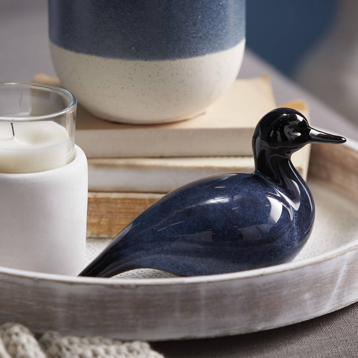 Canard décoratif en céramique