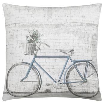 """Coussin décoratif vélo 19"""" x 19"""""""