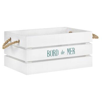 Medium Beach Wooden Crate