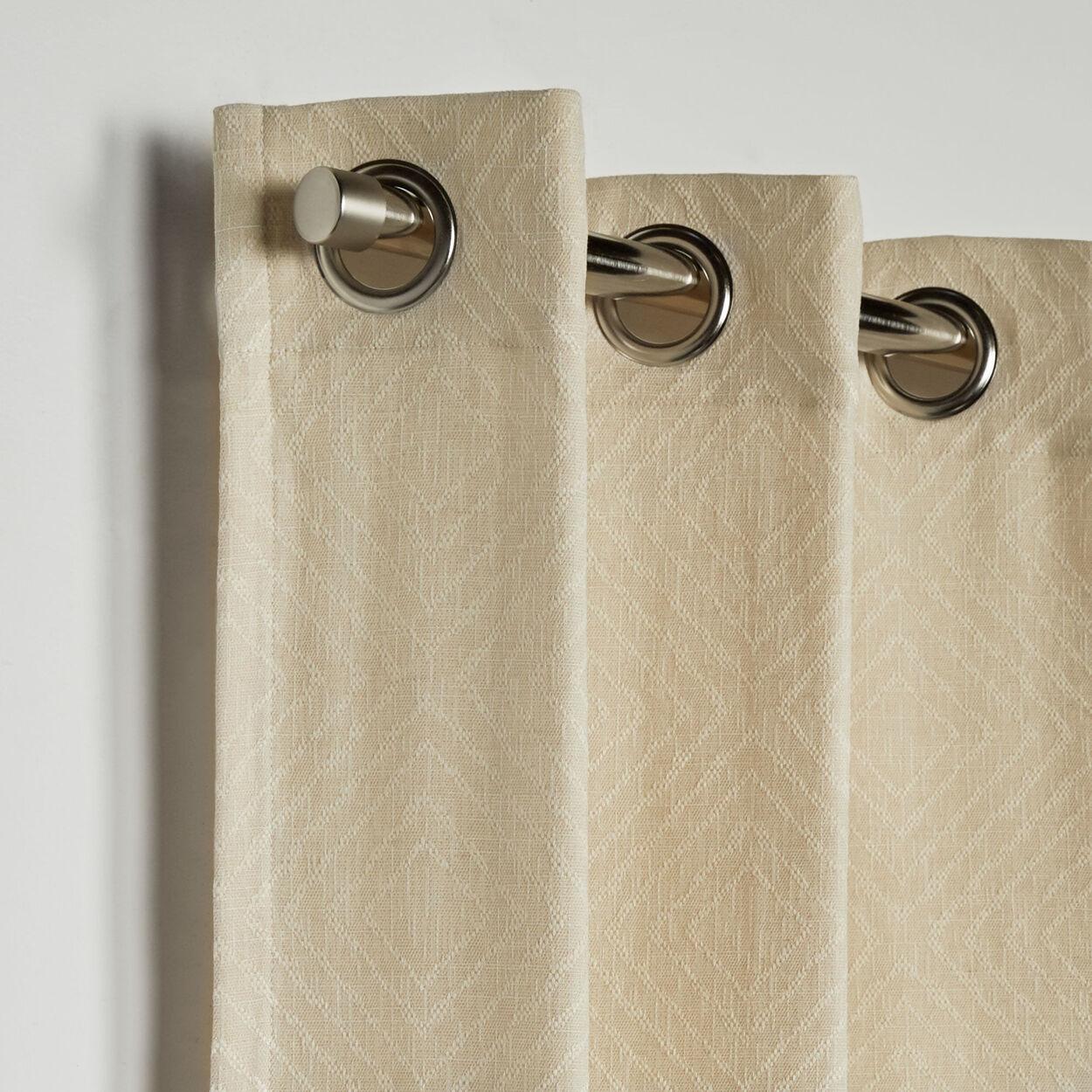 Salem Ikat Pattern Curtain