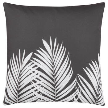 "Leaf-Print Decorative Pillow 18"" x 18"""