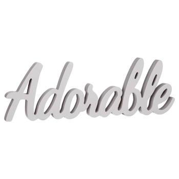 Decorative Word Adorable