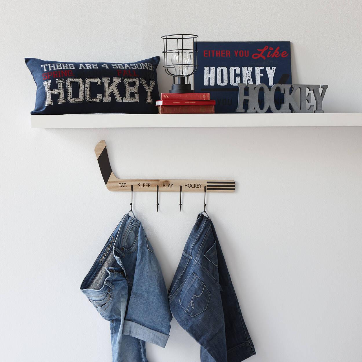 mot d coratif hockey. Black Bedroom Furniture Sets. Home Design Ideas