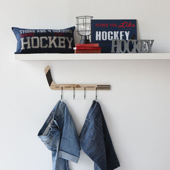 Mot décoratif - Hockey