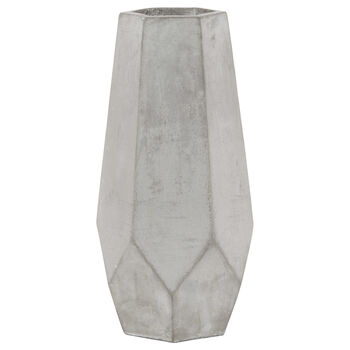 Cement Table Vase