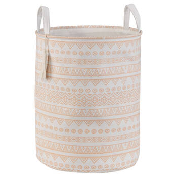 Printed Hamper with Handles