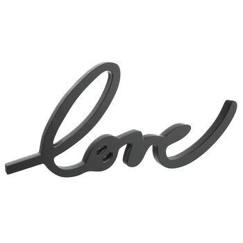 Mot décoratif Love