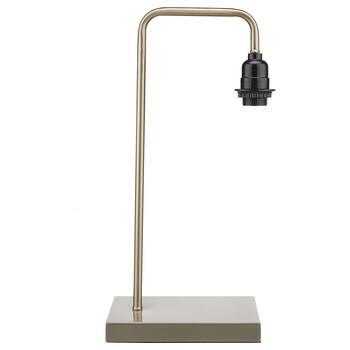 Pied de lampe de table en métal