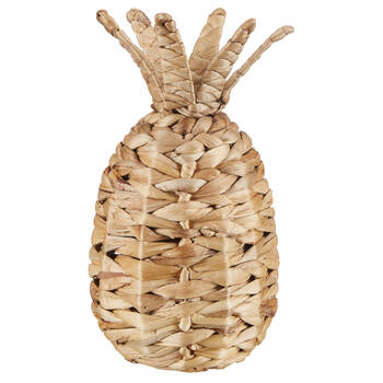Natural Hyacinth Decorative Woven Pineapple