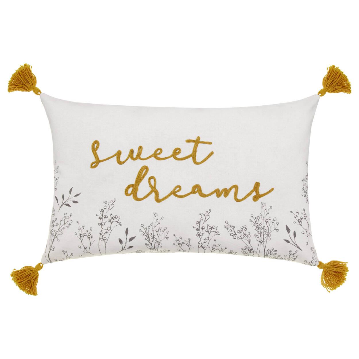 "Sweet Dreams Decorative Pillow 16"" x 10"""