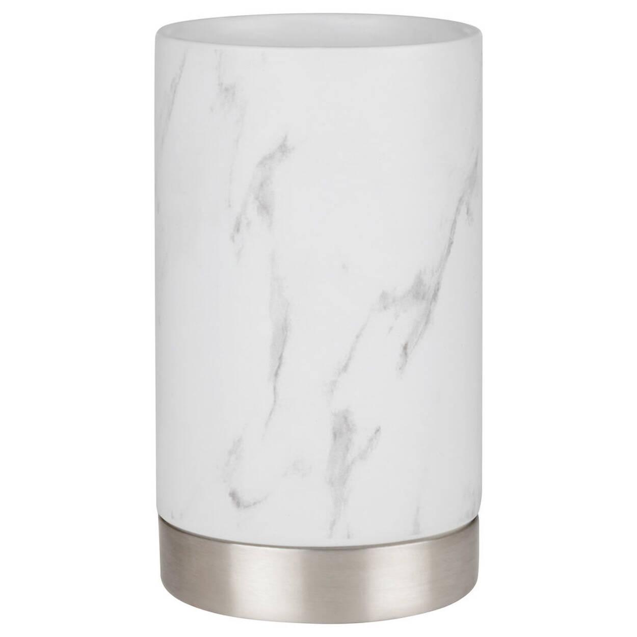 Gobelet en c ramique for Accessoires de salle de bain bouclair