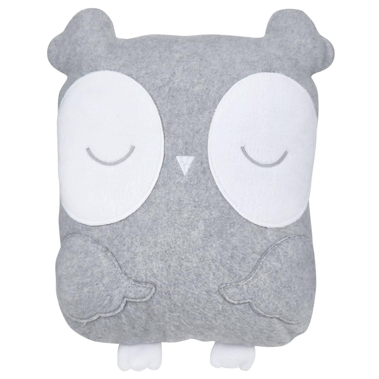 """Lou Owl Decorative Pillow 14"""" X 11"""""""