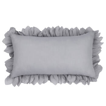 "Spikes Petal Decorative Pillow 11"" X 20"""