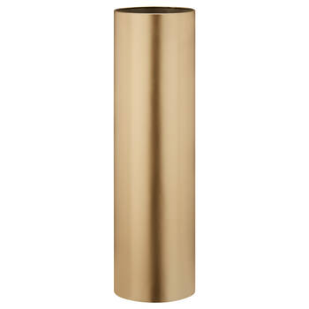 Cylinder Metal Floor Vase
