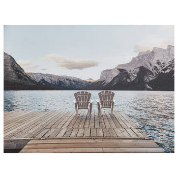 View for Two Printed Canvas