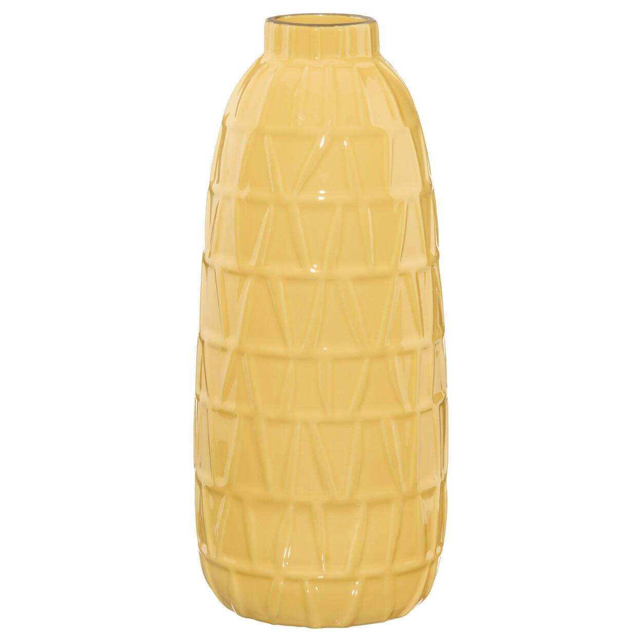 Vase en céramique texturé