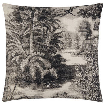 "Jungle Decorative Pillow Cover 18"" X 18"""