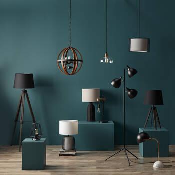 Wood Sphere Chandelier Ceiling Lamp