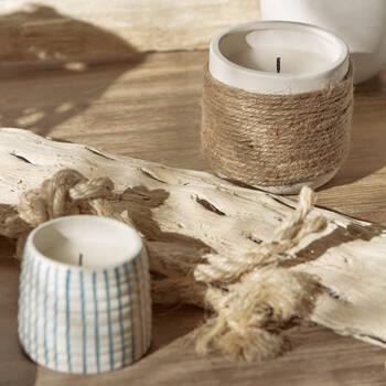 Candle in Ceramic Container