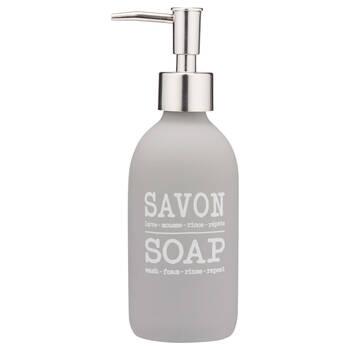 Typography Soap Dispenser