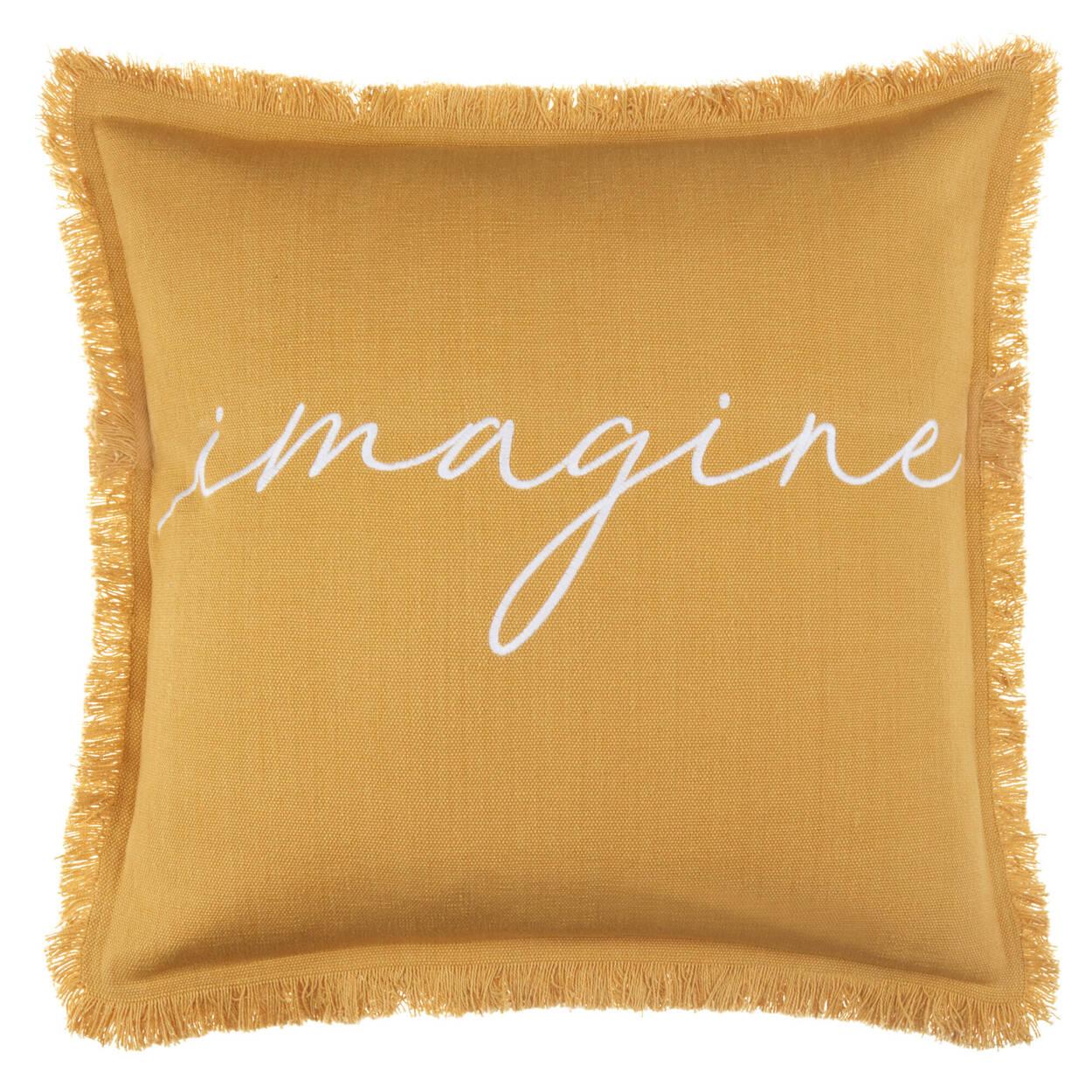 """Coussin décoratif Imagine 18"""" X 18"""""""
