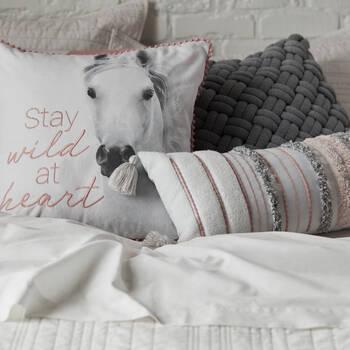 "Kosi Braided Decorative Pillow 18"" x 18"""