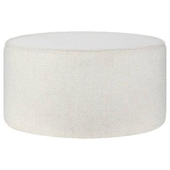 Round Fabric Ottoman