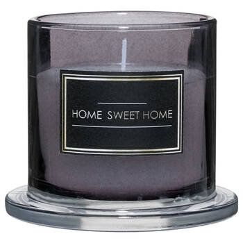 Home Sweet Home Glass Candle