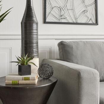 Sphère décorative en métal