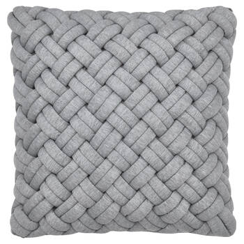 "Kosi Braided Decorative Pillow 18"" x 18"""