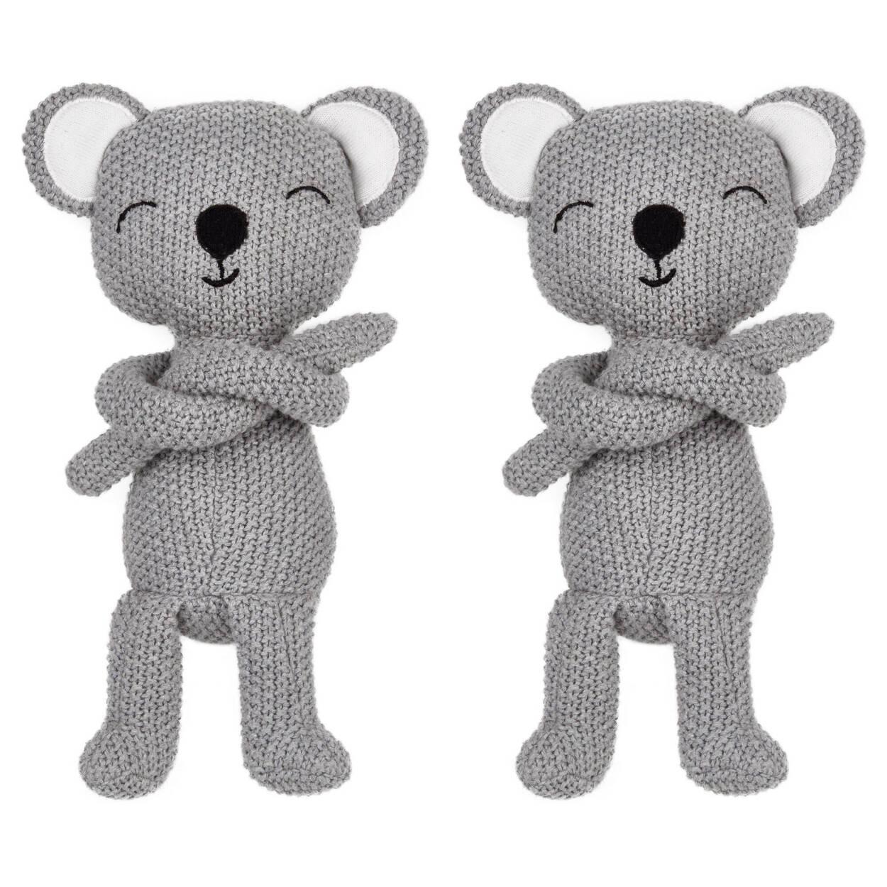 Ensemble de 2 attaches à rideaux koalas