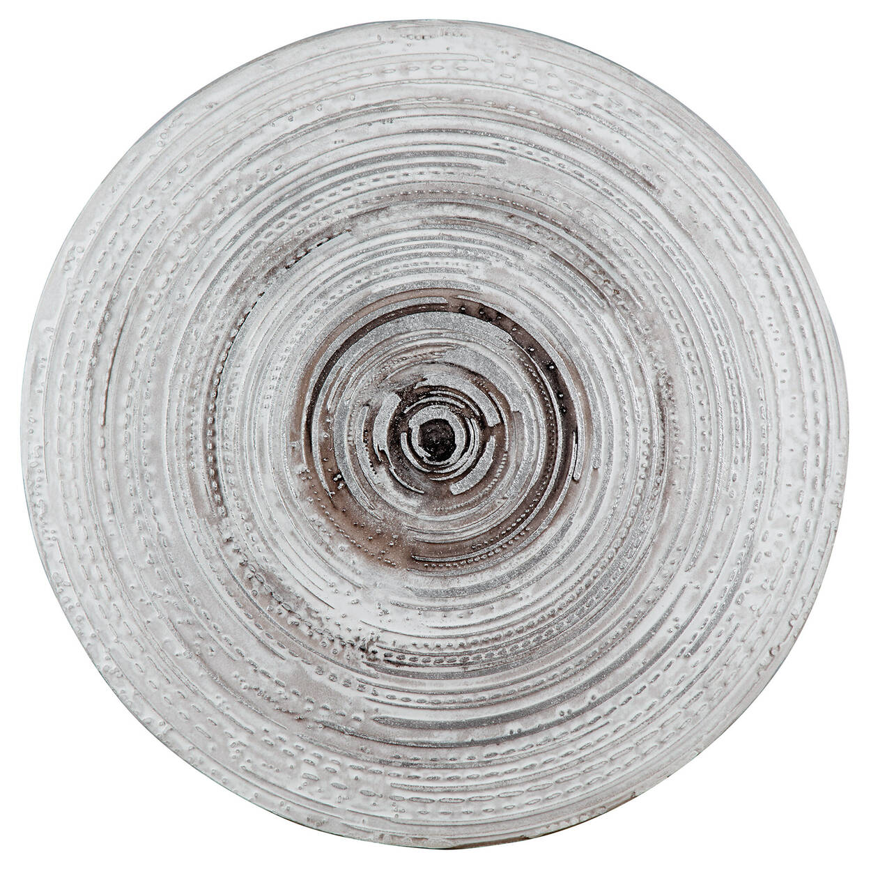 Round Oil Painted Abstract Wall Art