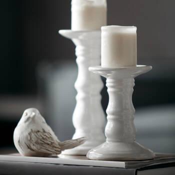 Ceramic Pillar Candle Holder