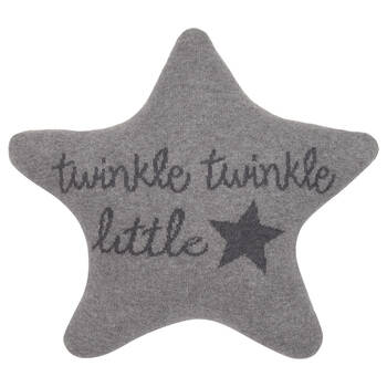 "Twinkle Star-Shaped Decorative Pillow 13"" X 13"""