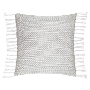 "Ansgar Decorative Pillow with Tassels 24"" X 24"""