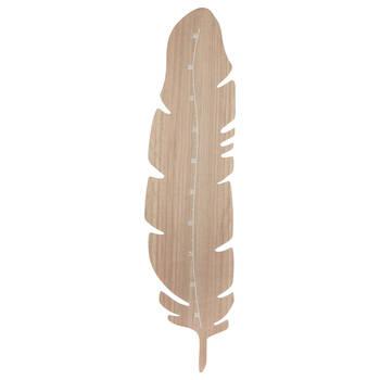 Charte de croissance en plume de bois