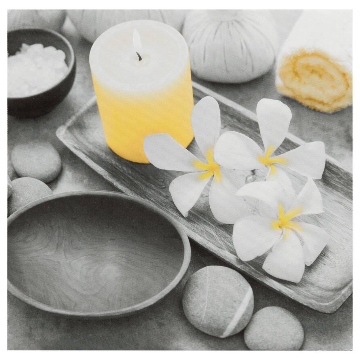 Tableau imprimé orchidées spa